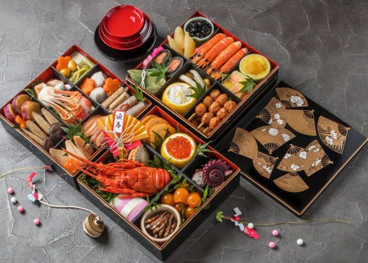 새해의 일본 식사