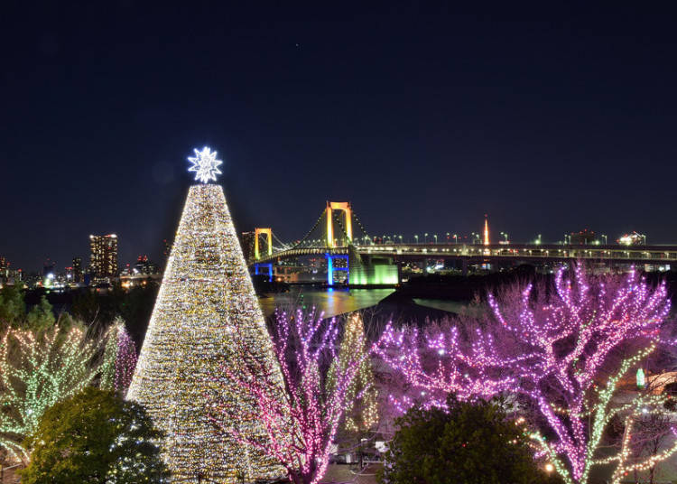 Christmas in Japan is about Illuminations and Decorations
