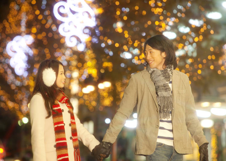 クリスマスは恋人たちの季節?