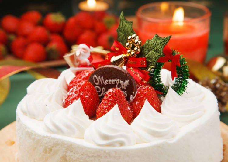 日本のクリスマスケーキ