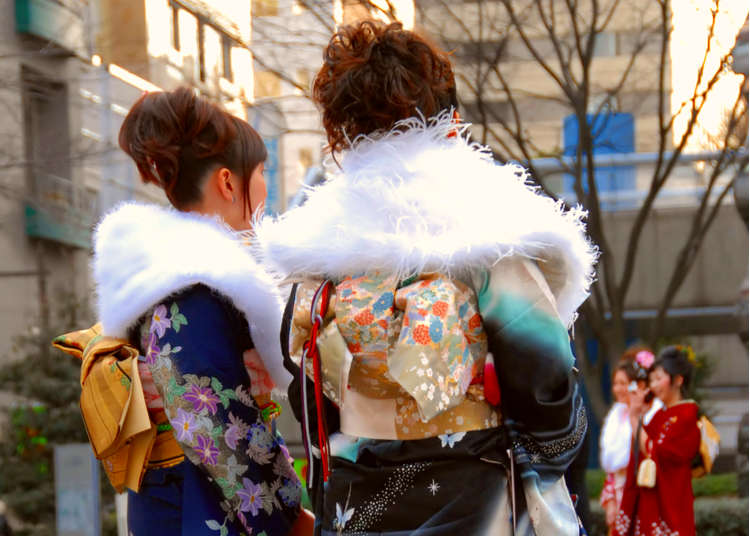 Suit and Kimono: Japan's Coming of Age Day (January 14)
