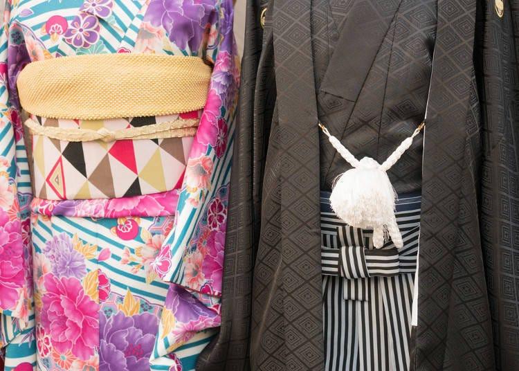 スーツ、それとも袴?
