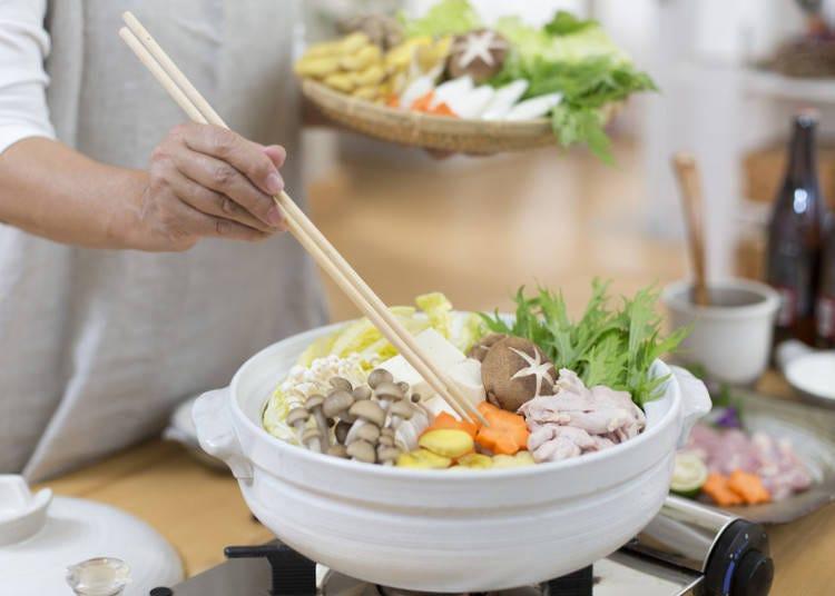 食用日本的燉煮料理‧火鍋