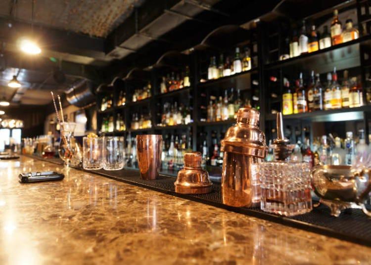 Bars in Roppongi