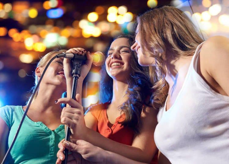 Karaoke in Roppongi