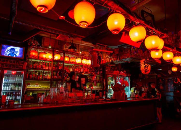 1. Shot bar PROPAGANDA: Party until the sun comes up!