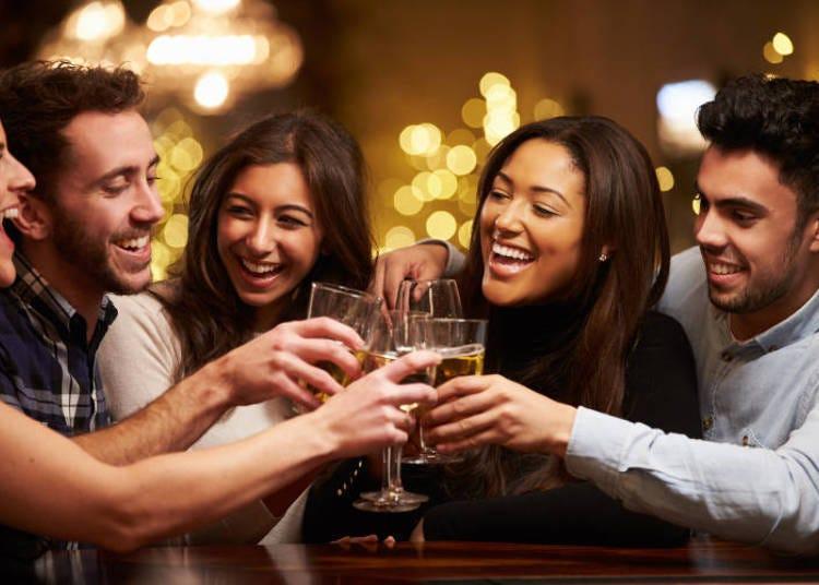 ชนแก้วให้กับ Night Life สุดวิเศษ!