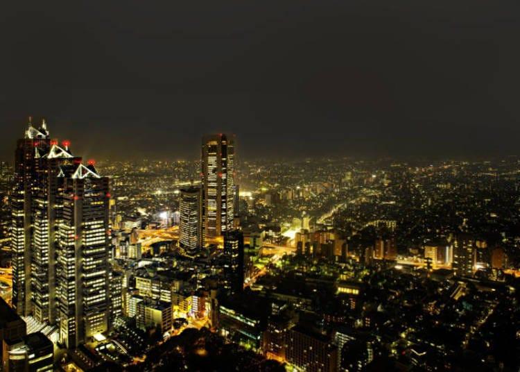 Kehidupan Malam di Shinjuku