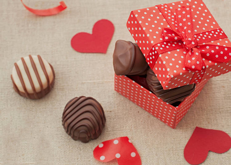 Types of Valentine's Chocolate in Japan