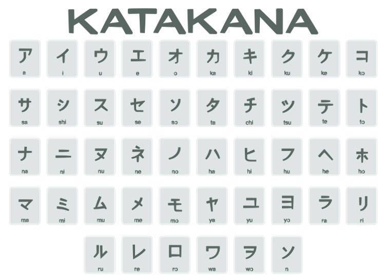 คาตาคานะ