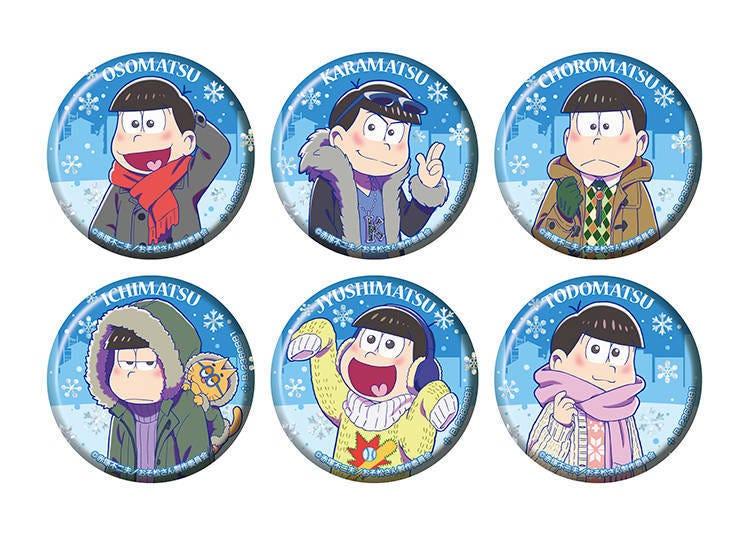 The Osomatsu-san Pin Badge Collection of the Cold Season
