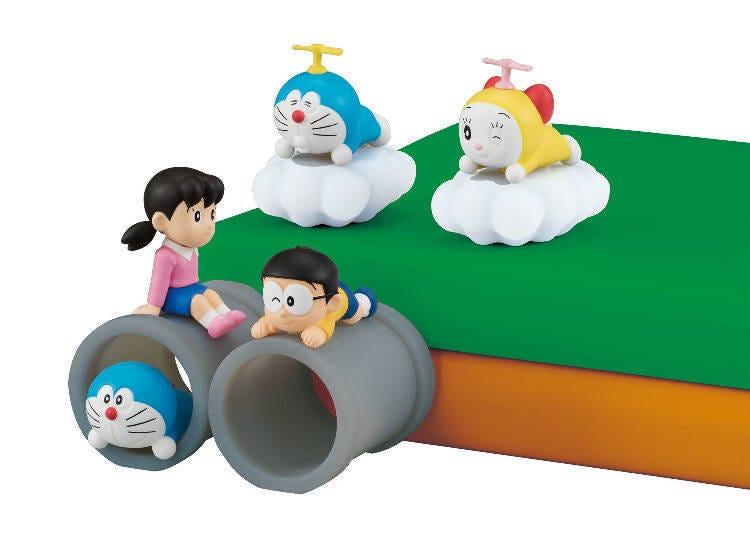 These Squishy Doraemon Figurines Will Pretty-up Your Desk!