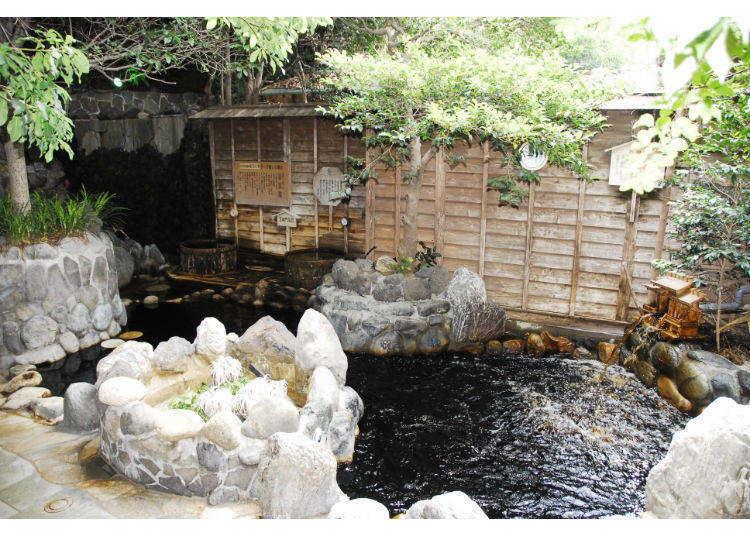 溫泉還有黑的?駐顏美容的東京「黑湯」3選!