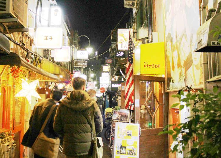 도쿄 신주쿠 고르덴 가이에 사람들이 몰리는 이유는?