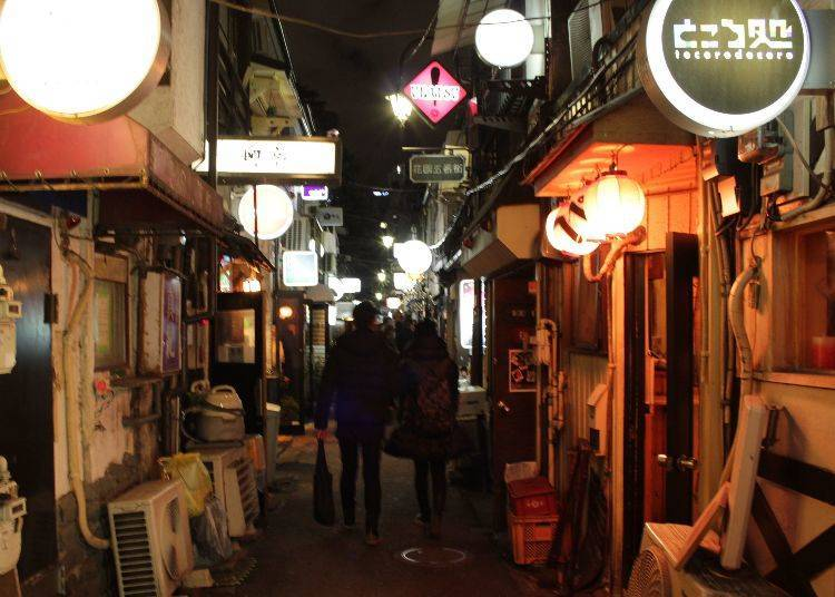 """Golden Gai, a """"Town of Love"""" for Natural Encounters"""