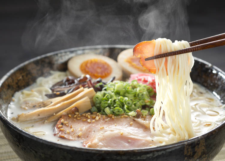 Tonkotsu is still the most popular ramen!