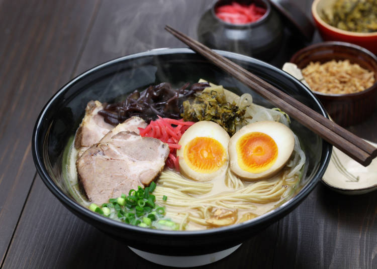 Despite being popular among foreigners, their least favorite ramen is...