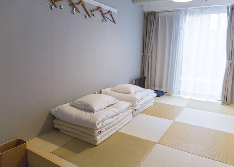 像日本的家一樣舒適的日式房間