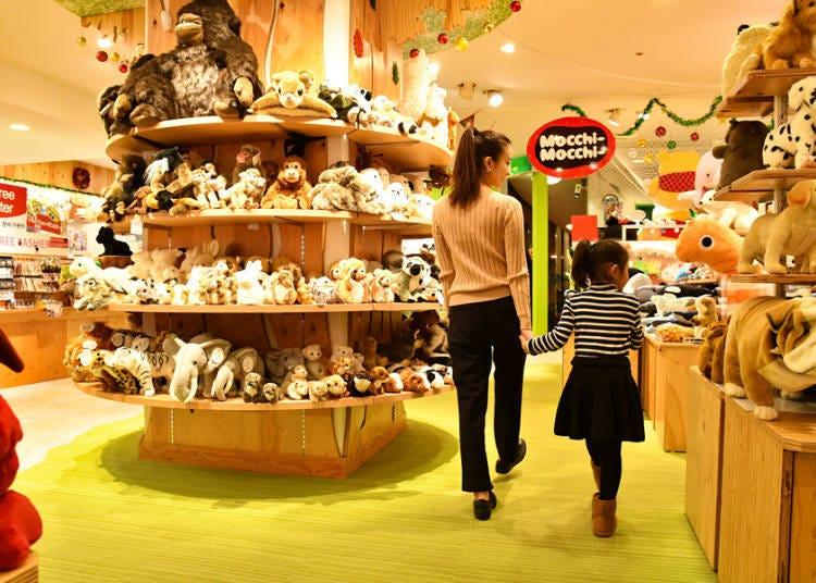 【2楼】约15,000种类以上的布偶聚集