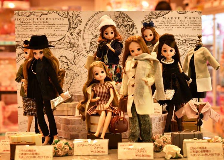 【地下1楼】贩售时尚娃娃!也可制作3D打印人像模型!