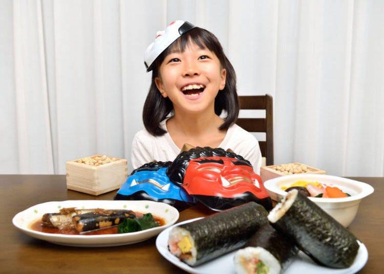 Celebrating Setsubun in a Variety of Ways