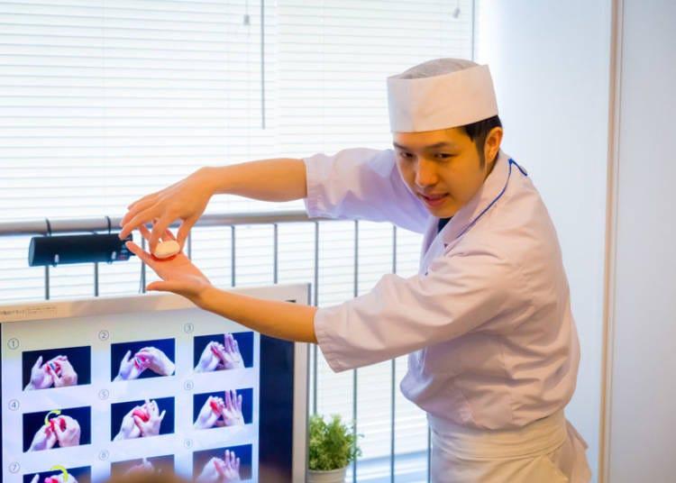 外国人向け寿司握り体験教室