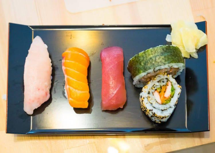 いよいよ握り寿司