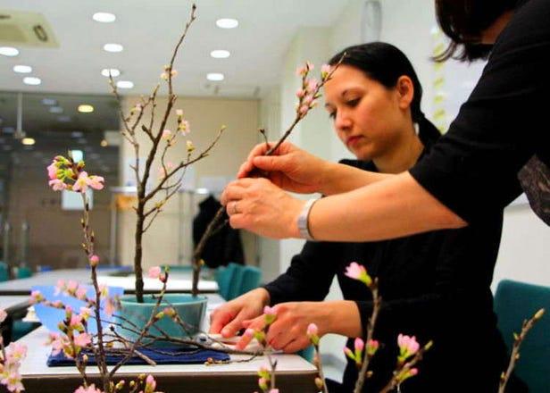 Learn the Art of Flower Arrangement at Ohara School of Ikebana