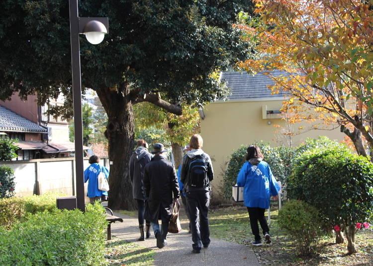 공원묘지에서 배우는, 일본 역사 속의 외국