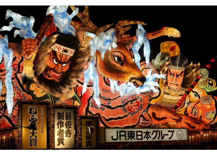 Nebuta, Kanto, and Tanabata – Discover the Three Great Festivals of Tohoku!