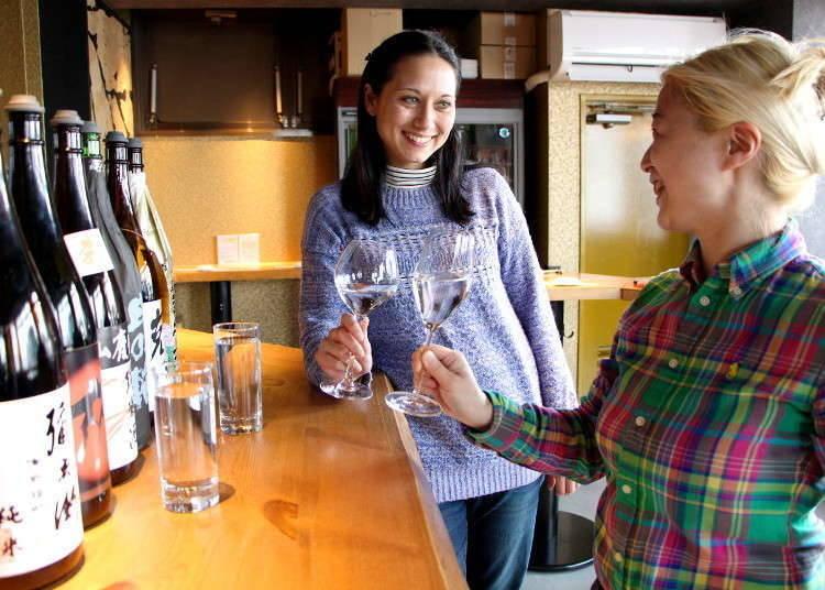 Sake Drinking Etiquette