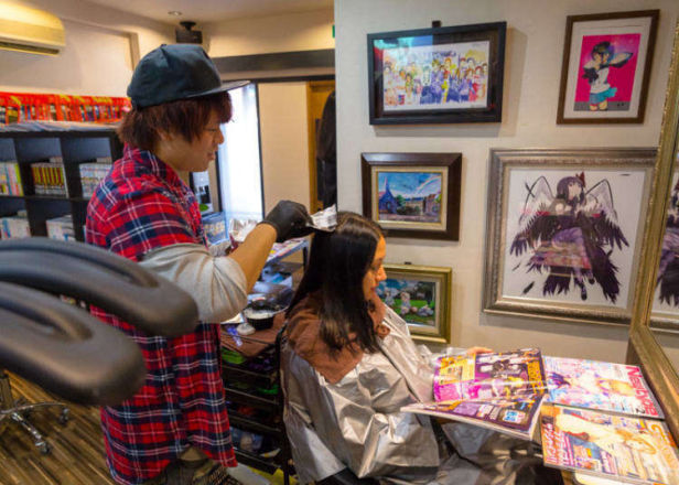 (Video) OFF-KAi!!: An Akihabara Hair Salon for Anime Fans
