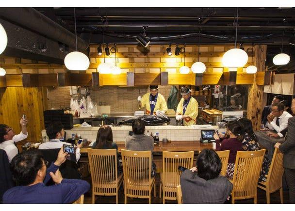 2번째. 참치를 무한리필로 먹을 수 있는 신주쿠의 우리키리 고멘 마이니치 가이타이 마구로 쇼텐