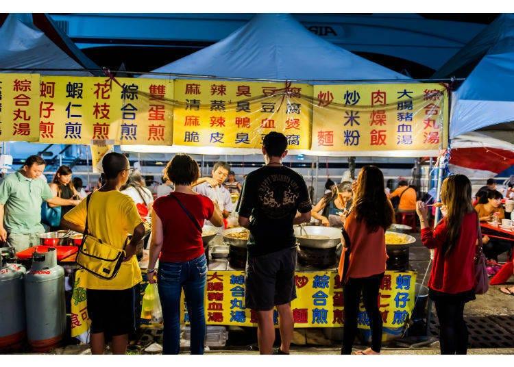 夜市超讚的!到深夜都活力四射的台灣