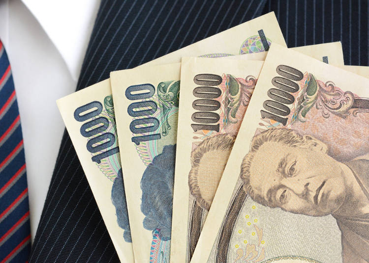Japan's Average Monthly Income: 3,000 US Dollars for Men, 2,200 US Dollars for Women