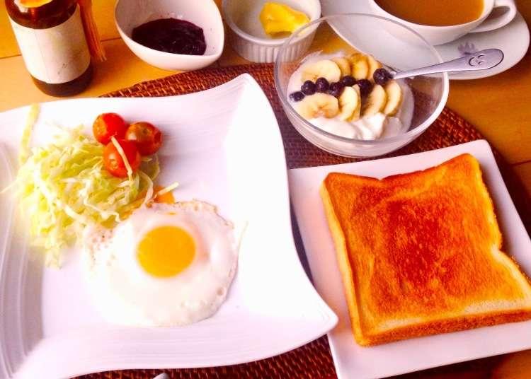 日本好奇妙,居然沒有早餐店!日本人早餐吃什麼?(西式早餐篇)