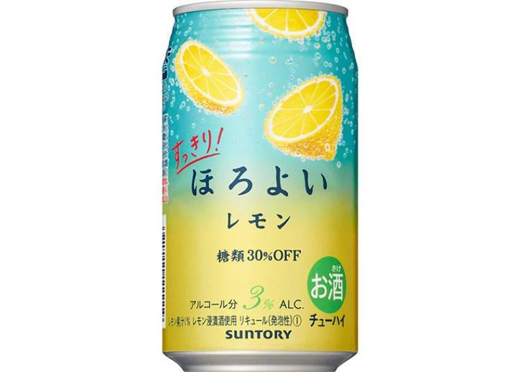 日本罐裝調酒試喝②清爽!微醉HOROYOI〈檸檬〉