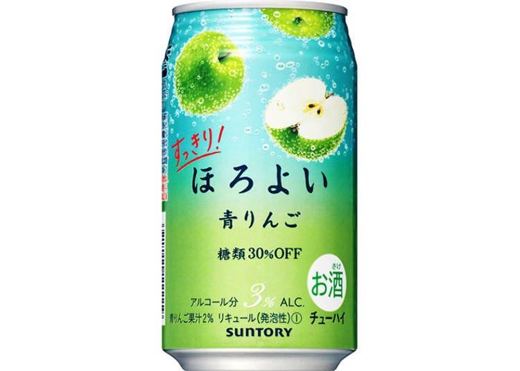 日本罐裝調酒試喝③清爽!微醉HOROYOI〈青蘋果〉