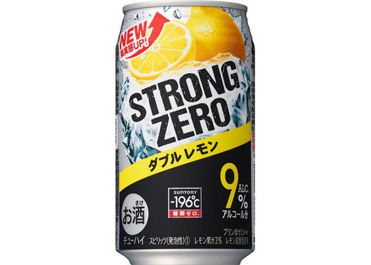 日本罐裝調酒試喝⑥-196℃ STRONG ZERO 〈雙檸檬〉