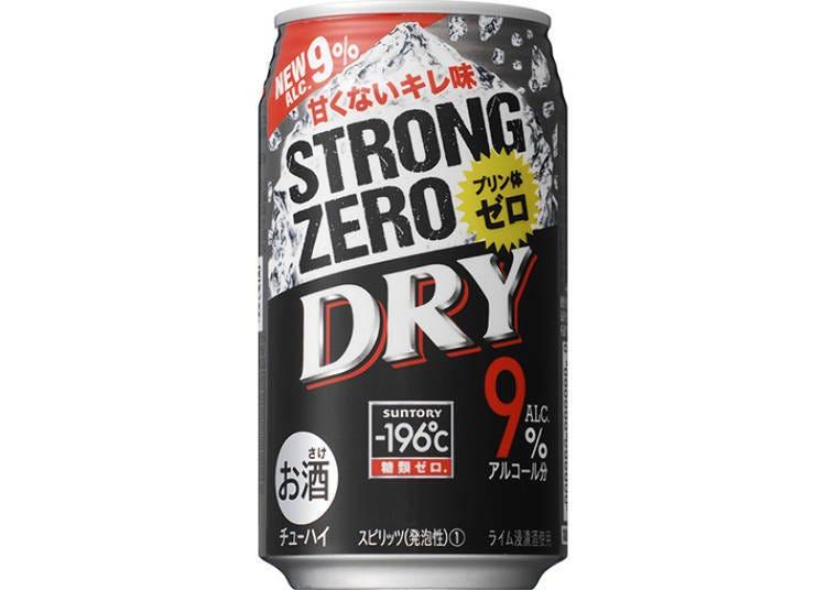 日本罐裝調酒試喝⑦-196℃ STRONG ZERO 〈DRY〉