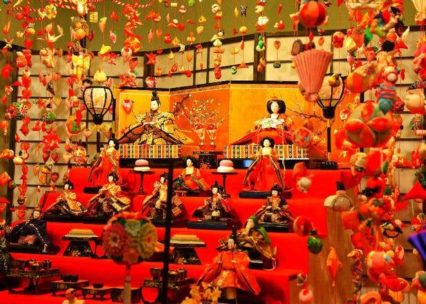 雛祭り:人形を飾ってお祝いを