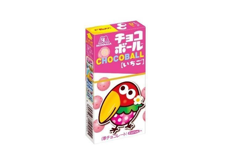 大嘴鳥巧克力球〈草莓口味〉