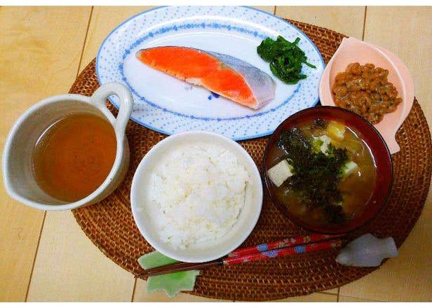 일본 현지인의 가정을 방문해서 본 일본인의 아침식사(일식편)
