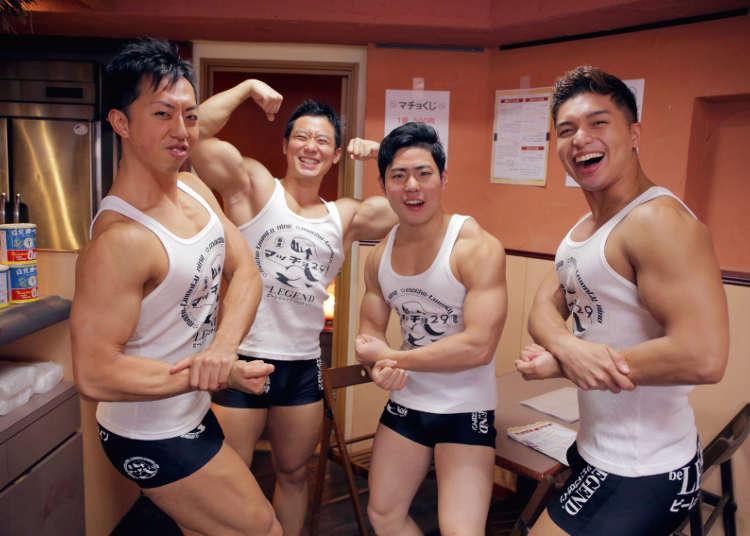 マッチョカフェで筋肉メニューを味わおう…!筋肉を愛するすべての人々へ