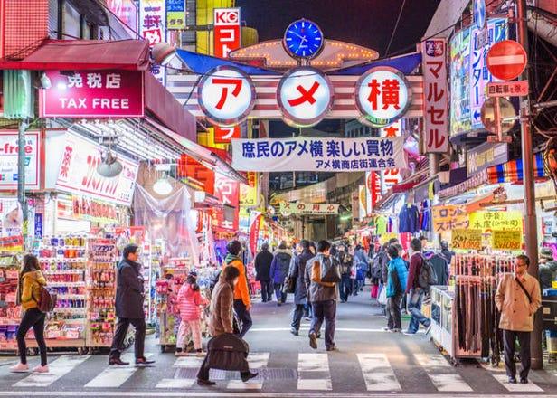 上野アメ横は爆買い天国!特に「安い」買い物おすすめ店はここ