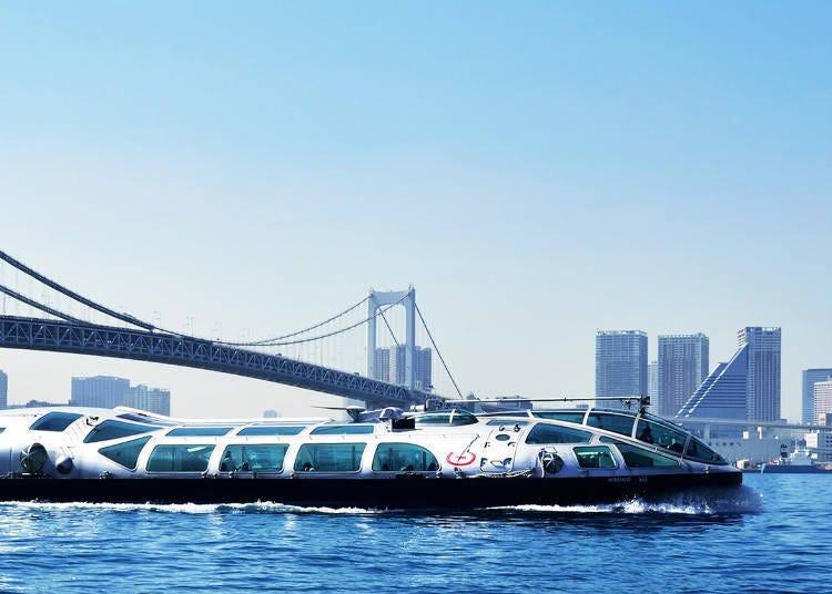 기본 중의 기본인 수상버스 도쿄 크루즈(TOKYO CRUISE)