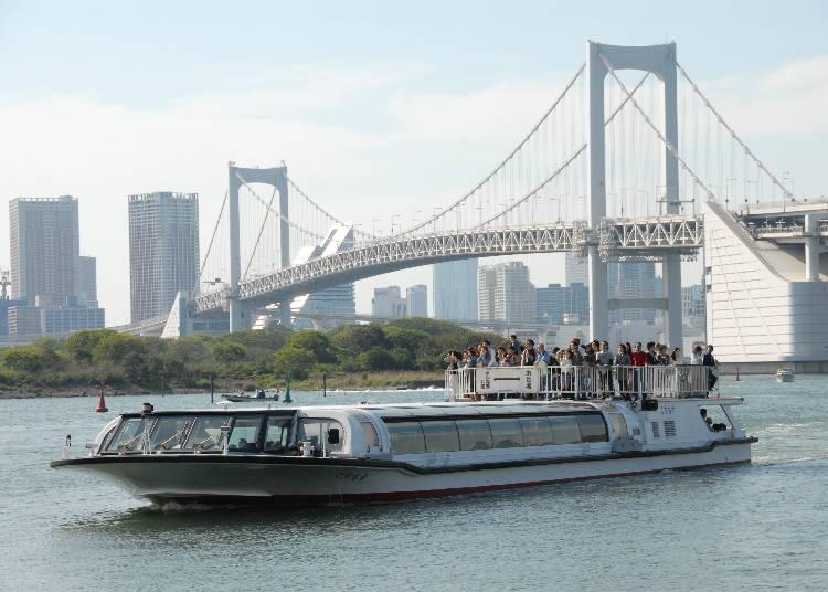 도쿄 끝까지 운항하는 '도쿄 미즈베 라인'