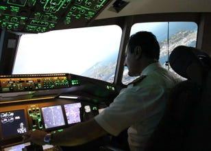 [MOVIE] SkyArt JAPANでバーチャル操縦士体験