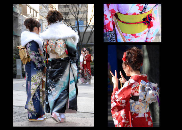What kinds of Japanese Kimono are there and when are they worn?