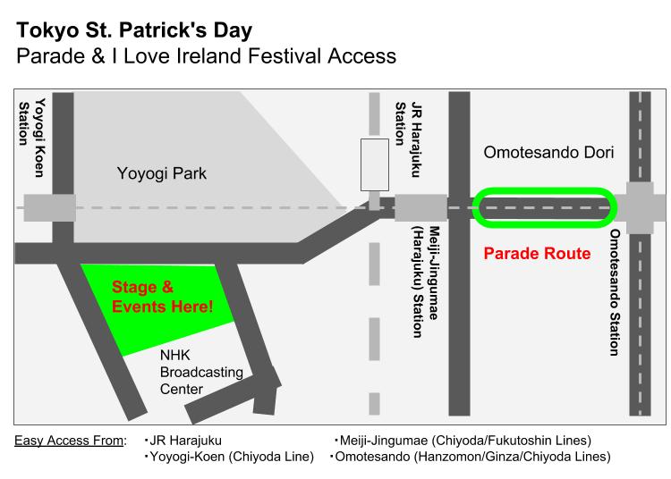 Tokyo St. Patrick's Parade 2022